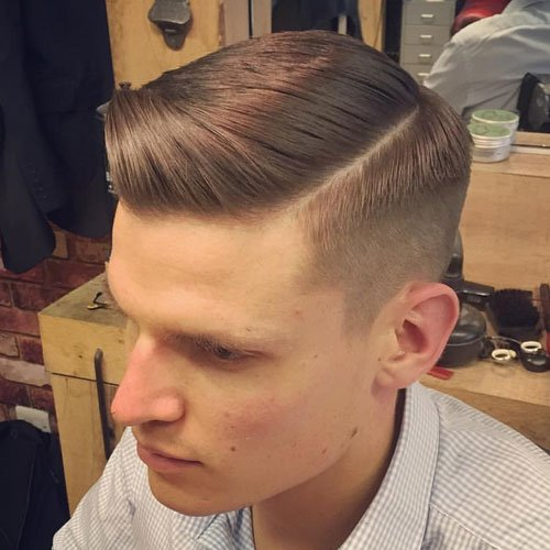Men's Side Part