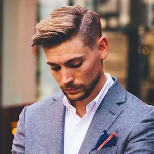mens hair side parting styles side part hairstyles and parted haircuts s 3158 | Mens Side Parted Hairstyles