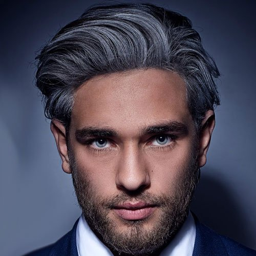 Older Men's Long Hairstyles