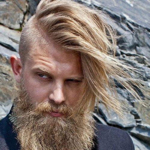 Shaved Sides Hairstyles For Men