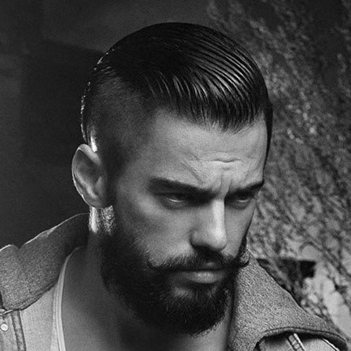 Magnificent Shaved Sides Hairstyles For Men Men39S Hairstyles And Haircuts 2017 Short Hairstyles For Black Women Fulllsitofus