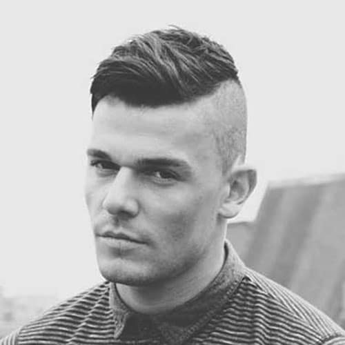 Fine Shaved Sides Hairstyles For Men Men39S Hairstyles And Haircuts 2017 Short Hairstyles Gunalazisus