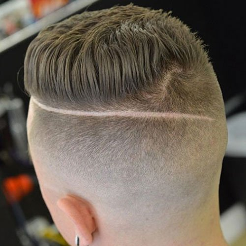 Shaved Sides and Back Haircut