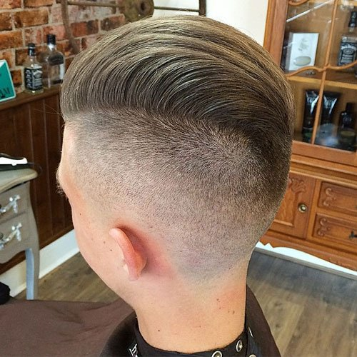 Shaved Undercut + Textured Slick Back