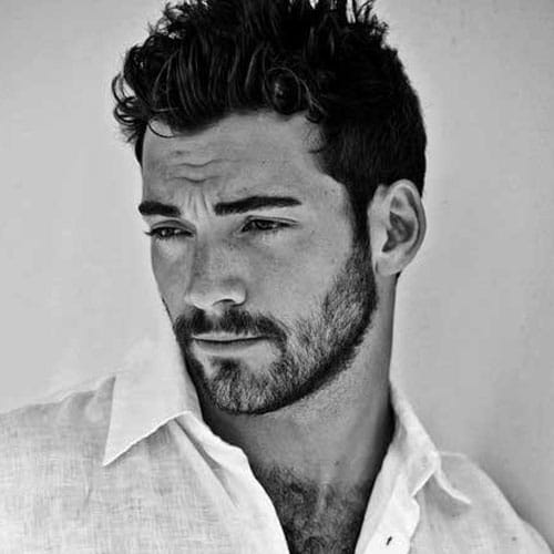 Wondrous Hairstyles For Men With Thick Hair Men39S Hairstyles And Haircuts Short Hairstyles Gunalazisus