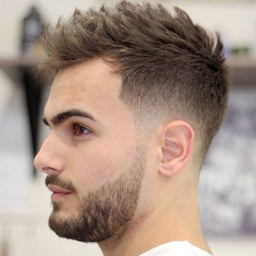 Short Hairstyles For Men | Men's Hairstyles + Haircuts 2017
