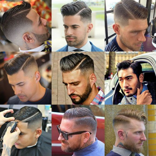 Side Part Hair For Men