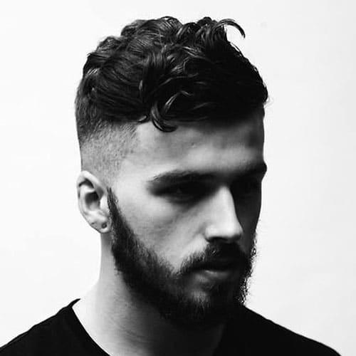 Marvelous Shaved Sides Hairstyles For Men Men39S Hairstyles And Haircuts 2017 Short Hairstyles For Black Women Fulllsitofus