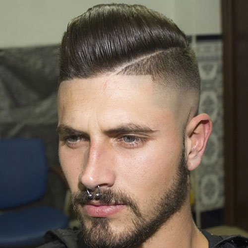 Top Shaved Sides Hairstyles
