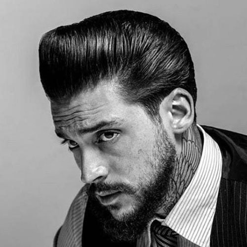 Rockabilly hair men