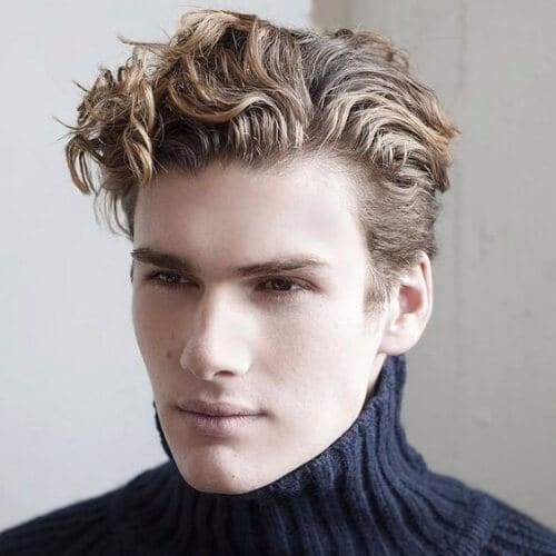 Curly Quiff