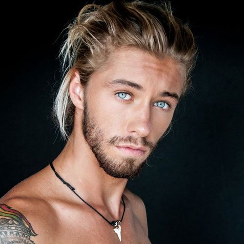 Cute Long Men's Hairstyles