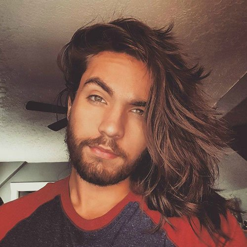 Hot Men's Long Hairstyles