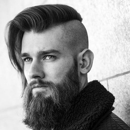 Haircuts for men with thick hair fade