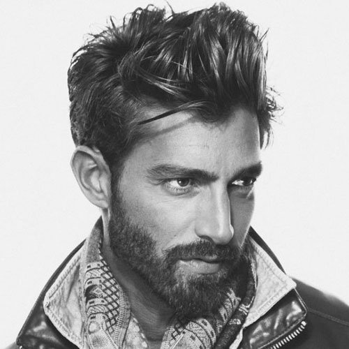Men's Short Messy Hairstyles