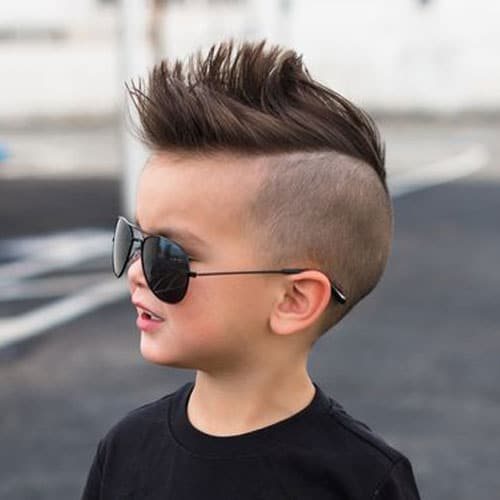 Mohawk Fade - Cute Haircut For Toddler Boy