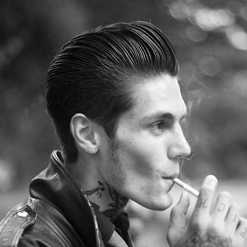 Captivating Rockabilly Hair For Guys. Rockabilly Pompadour