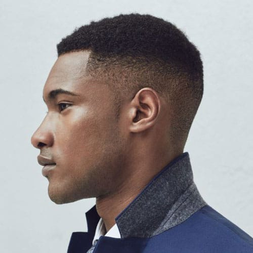 Lovely Taper Fade Haircut For Black Men