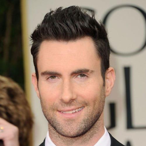 Adam Levine Hairstyle - Long Hair