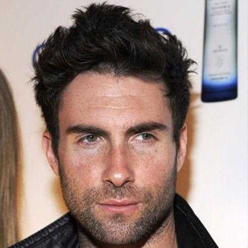 Adam Levine Long Hair