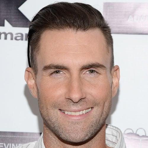 Adam Levine Short Hair - Comb Over