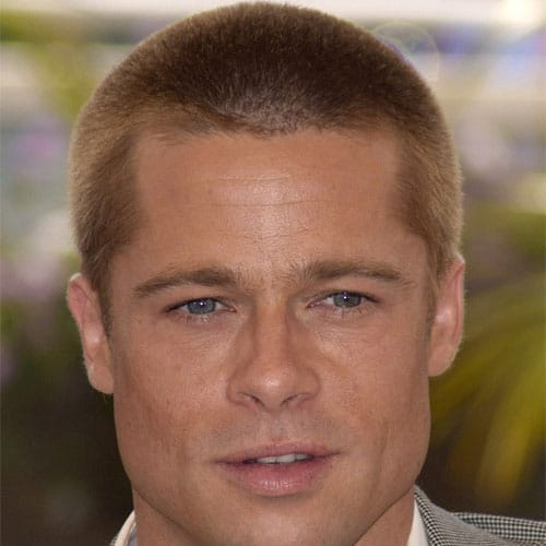 brad pitt fight club buzz cut - photo #9