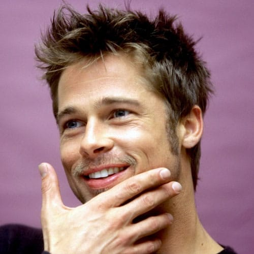 brad pitt fight club buzz cut - photo #26