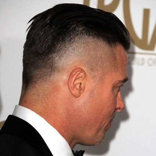 Brad Pitt Fury Hairsty...