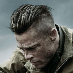 Brad Pitt Nazi Haircut