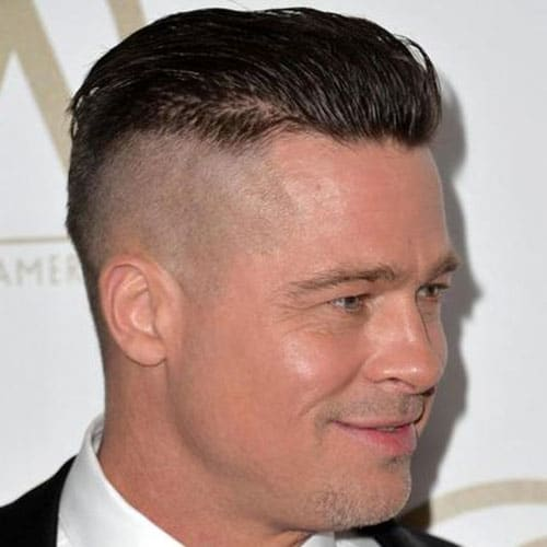 Brad Pitt Fury Hairstyle Men S Hairstyles Haircuts 2017
