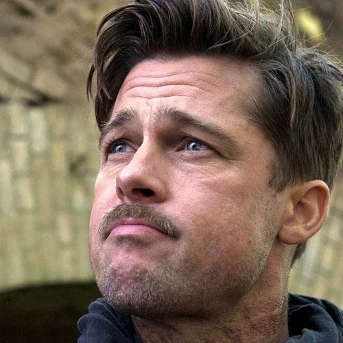 Miraculous Brad Pitt Hairstyles Men39S Hairstyles And Haircuts 2017 Short Hairstyles Gunalazisus