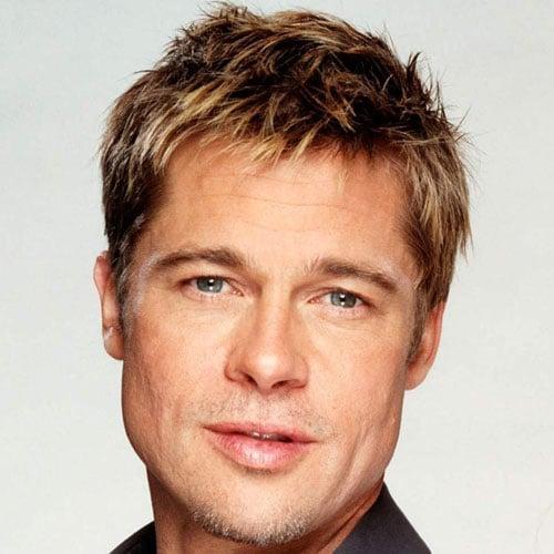 Brad Pitt Short Hair