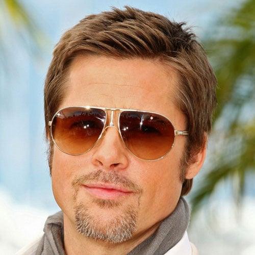 Brad Pitt Short Haircut