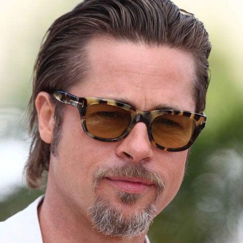 Brad Pitt Slicked Back