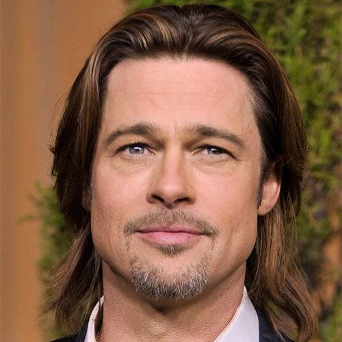 Brad Pitt's Famous Long Hair