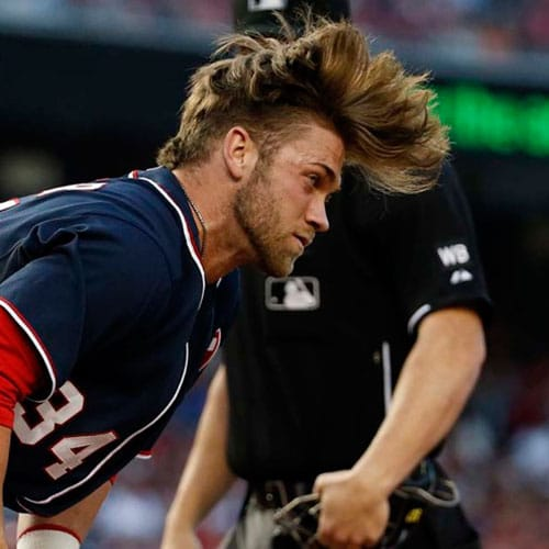 Bryce Harper Hairstyles Men S Hairstyles Haircuts 2020