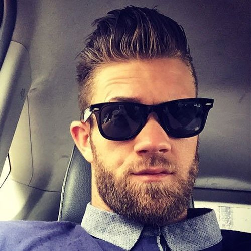 Bryce Harper Hair and Beard