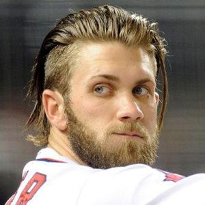Bryce Harper Hairstyles
