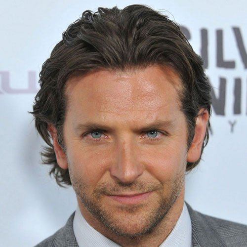 Celebrity Hairstyles - Bradley Cooper - Celebrity Hairstyles For Men Men's Hairstyles + Haircuts 2017