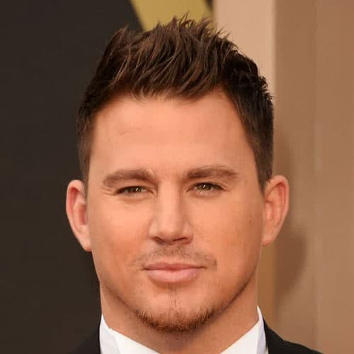 Celebrity Hairstyles - Channing Tatum - Celebrity Hairstyles For Men Men's Hairstyles + Haircuts 2017