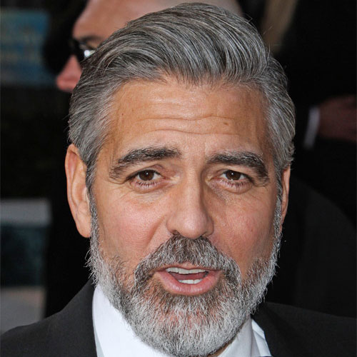 Celebrity-Hairstyles-George-Clooney