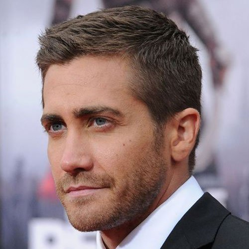 Celebrity Hairstyles - Jake Gyllenhaal - Celebrity Hairstyles For Men Men's Hairstyles + Haircuts 2017