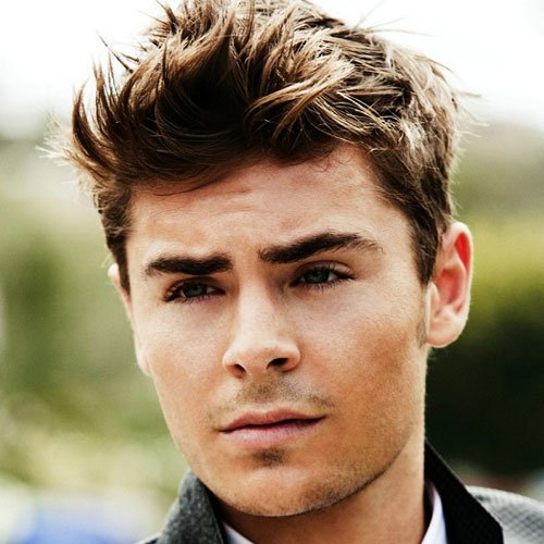 Celebrity Hairstyles - Zac Efron - Celebrity Hairstyles For Men Men's Hairstyles + Haircuts 2017