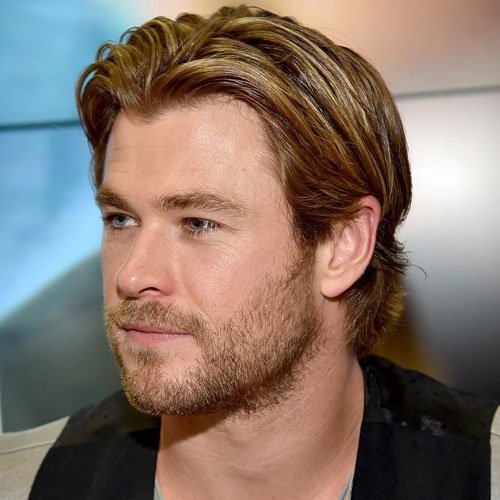 Chris Hemsworth Haircu...