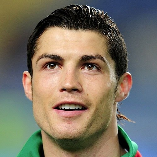 Cristiano Ronaldo Haircut - Slicked Back