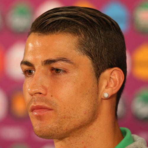 Exceptional Cristiano Ronaldo Hairstyles   Comb Over