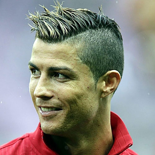 Superb Cristiano Ronaldo Hairstyles   Faux Hawk