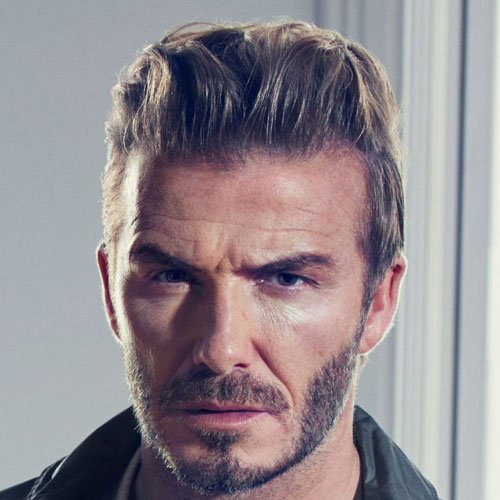 David Beckham Hairstyles | Men's Hairstyles + Haircuts 2017