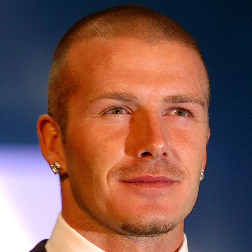 buzz cut hair style david beckham hairstyles 8158