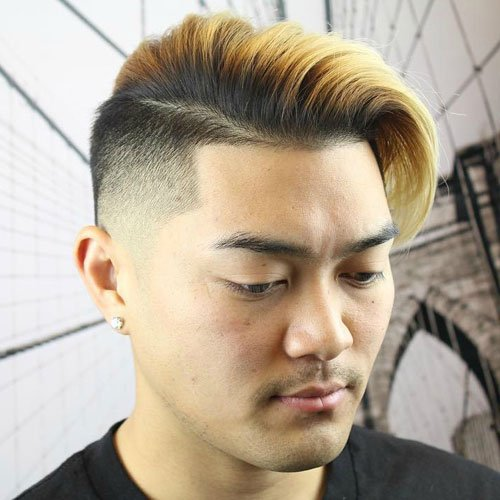 Haircuts For Asian Men With Round Faces